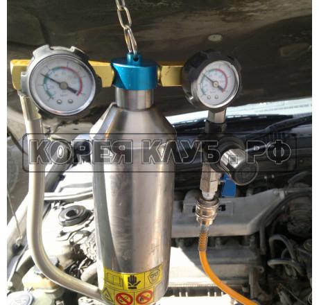 Легковой чистка форсунок без снятия на бензиновом двигателе