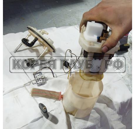 Минивэн замена топливного фильтра на бензиновом двигателе