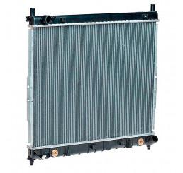 Внедорожник замена радиатора охлаждения ДВС
